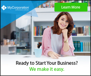 We make starting your business easy 300x250