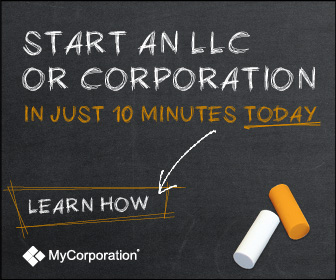 Start an LLC or Corporation in just 10 Minutes 336x280