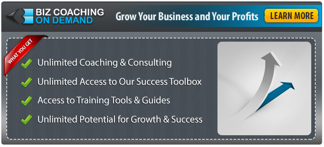 Live Business Coaching Webcasts, Unlimited Consultations, and more
